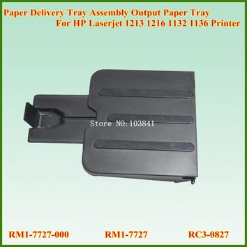 New Paper Delivery Tray Assembly Output Paper Tray RM1-7727-000 RM1-7727 RC3-0827 For HP Laserjet 1213 1216 1132 1136 Printer