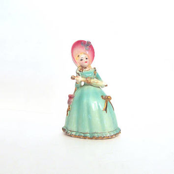 Lovely Vintage Japan Southern Belle with Parasol Napco?