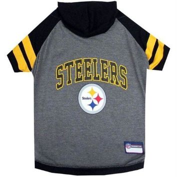 DCCKT9W Pittsburgh Steelers Pet Hoodie T-Shirt