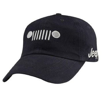 DCCKUG3 Jeep Grill Cotton Twill Cap
