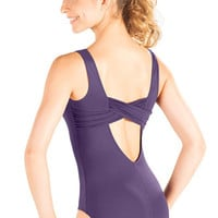 So Danca D272 Adult Tank Leotard With Thick Criss Cross Back Strap