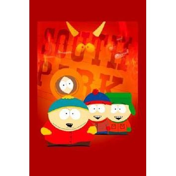 South Park poster Metal Sign Wall Art 8in x 12in