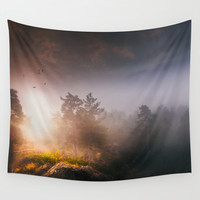Cleansing Wall Tapestry by HappyMelvin