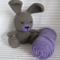 Crochet Bunny, Bunny Stuffed Animal, Crochet Stuffed Animal, Bunny Plush, Nursery Decor, Stuffed Bunny, Plush Animal, Stuffed Animal