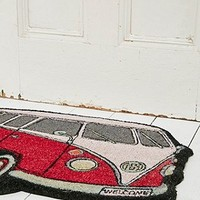 Campervan Doormat in Red - Urban Outfitters