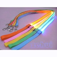 LED Flashing Dog Harness Pet Leash Rope Belt Safety Lead Light Nylon 5Colors 12""