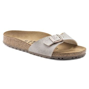 Sale Birkenstock Madrid Birko Flor Animal Fascination Mud 1006664 Sandals