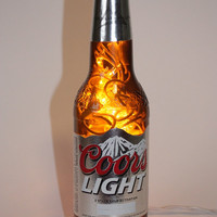 Coors Light - Recycled Bottle - Night Light