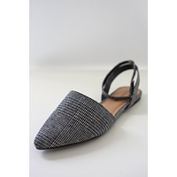 Alyssa Flats - Black & White