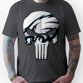 Philadelphia Eagles Punisher Logo Unisex T-Shirt