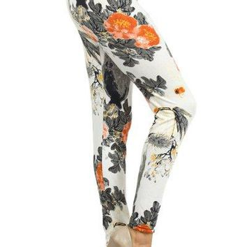 Japanese Watercolor leggings