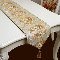 Coffee color Table Runners Quality Tablecloth Wedding table runners wedding decoration home deco