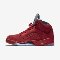 Best  Deal Online Nike AIR JORDAN 5 RETRO Raging Bulls College Red Black 136027-602