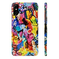 Phone case, Case Mate Slim Phone Cases, Abstract Art, Phone Accessories, Accessory, Phone, Phone Cases, Fun Phone Case, Colorful Phone Case