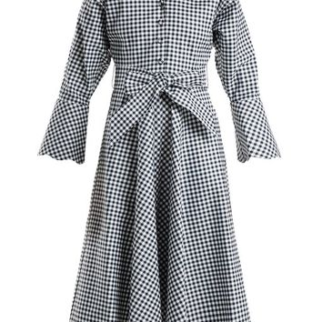 Gingham cotton dress | Batsheva | MATCHESFASHION.COM US