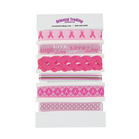 Breast Cancer Awareness Printed Ribbons