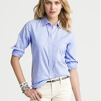 Embellished Oxford Shirt