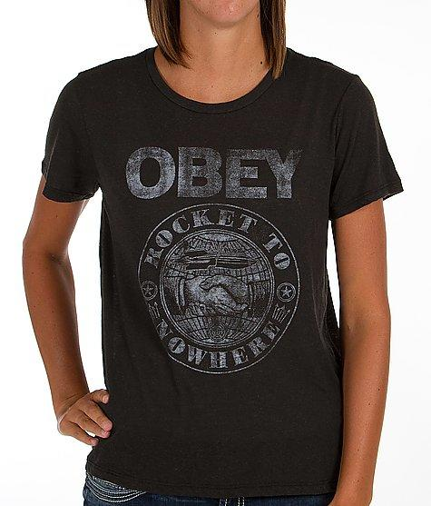 OBEY Rocket To Nowhere T-Shirt - Women's Shirts/Tops   Buckle