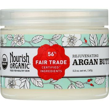 Nourish Organic Rejuvenating Argan Butter - 5.2 oz
