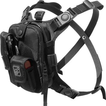 Covert Escape RG(TM) Flashlight/Tools/Camera/GPS/Cycling Chest Pack by Hazard 4