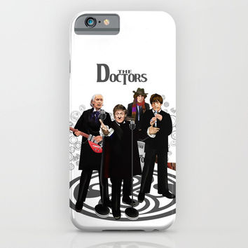 The Doctor Who Band Classic series iPhone 4 4s 5 5c 6 7, pillow case, mugs and tshirt iPhone & iPod Case by Three Second