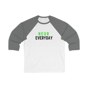 NEUR EVERYDAY - Men's Baseball Long Sleeve Tee