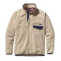 Patagonia Men's Synchilla® Recycled Snap-T® Fleece Pullover | El Cap Khaki