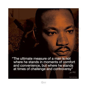 Martin Luther King Jr. Ultimate Measure of a Man