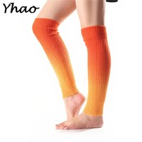 Yoga Socks Gradient Segment Dyed Knitted