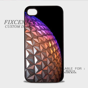 Epcot Ball Geometric Golf - iPhone 4/4S Case