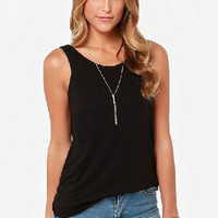 Casual Sleeveless Backless Shirt