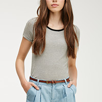 Pleated Chambray Shorts
