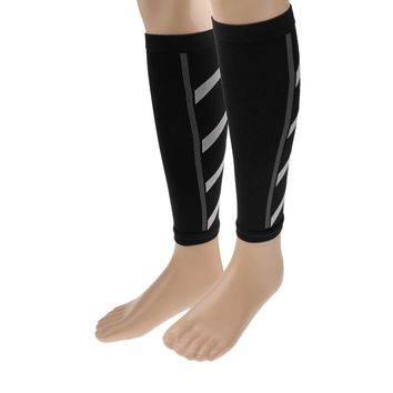 Unisex Men Wome Running Athletics Compression Sleeves Calf Leg Shin Splints Elbow Knee Pads Protection Sports Safety