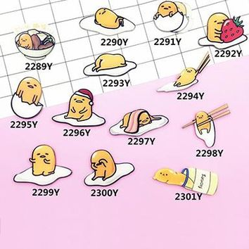 Lazy Egg Pin