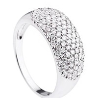Marianne Song Cluster Band Ring Made In Monaco
