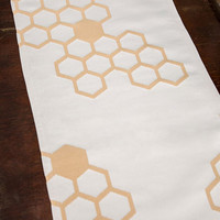 ModCloth Honeycomb On Down Table Runner