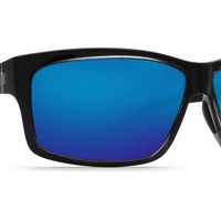 Cut Squall Sunglasses with Blue Mirror 580P Lenses by Costa Del Mar