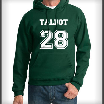 Talbot 28 White ink devenford prep teen wolf Unisex Pullover Hoodie