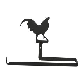 Rooster - Paper Towel Holder Horizontal Wall Mount