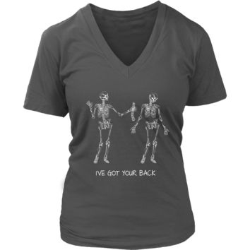 Literally Got Your Back T-Shirt - Humorous Anatomy Tshirt - Womens Plus Size up to 4X