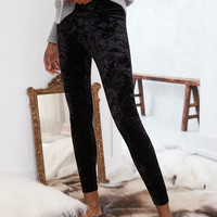 Aerie CHILL Velvet Legging, City Gray