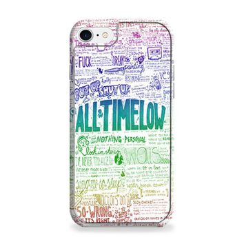 All Time Low Art Quotes iPhone 6 | iPhone 6S Case
