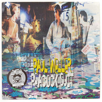 Vintage 90s Paul Weller Peacock Suit Limited Edition UK Import 45 RPM Single Record Vinyl