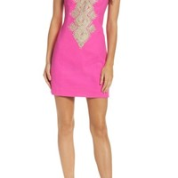 Lilly Pulitzer® Junie Embroidered Sheath Dress | Nordstrom