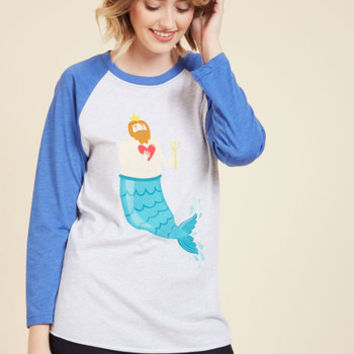 Sea-ing is Believing Top | Mod Retro Vintage Sweaters | ModCloth.com