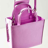 Satin Mini Tote Bag - Urban Outfitters