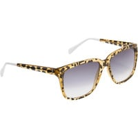 Sheriff & Cherry Leopard Sunglasses at Barneys New York at Barneys.com