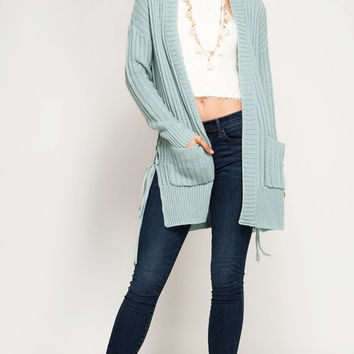 Side Tied Cardigan - 2 Options
