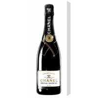 'One of a Kind Champagne Tall' Graphic Art on Wrapped Canvas