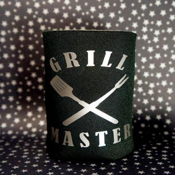 GRILL MASTER Koozie / Coolie / Coozie / Cozy / Huggy